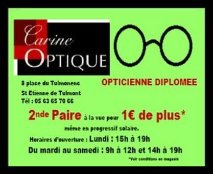 carine optique