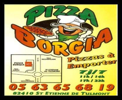 pizza borgia